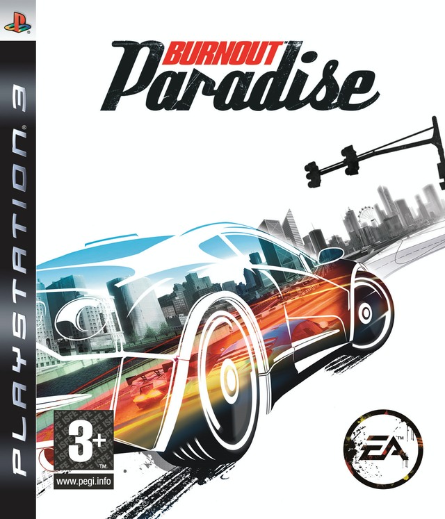 Caratula de Burnout Paradise para PlayStation 3