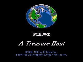 Pantallazo de Bush Buck: A Global Treasure Hunt para Amiga