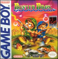 Caratula de Buster Bros. para Game Boy