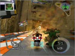 Pantallazo de Butt-Ugly Martians: Zoom or Doom para PlayStation 2