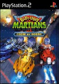 Caratula de Butt-Ugly Martians: Zoom or Doom para PlayStation 2