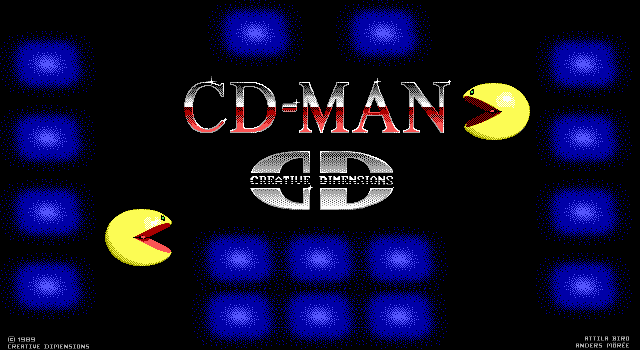 Pantallazo de CD-Man para PC