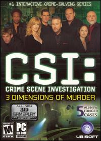 Caratula de CSI: Crime Scene Investigation -- 3 Dimensions of Murder para PC