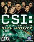 Caratula nº 68909 de CSI: Crime Scene Investigation -- Dark Motives (200 x 282)