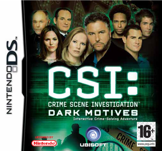 Caratula de CSI: Dark Motives para Nintendo DS
