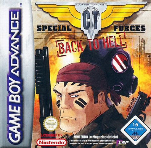Caratula de CT Special Forces: Back to Hell para Game Boy Advance