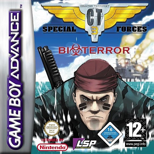 Caratula de CT Special Forces 3 Bioterror para Game Boy Advance