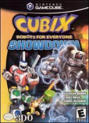 Caratula de CUBIX: Robots for Everyone -- Showdown para GameCube