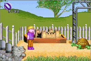 Pantallazo de Cabbage Patch Kids: The Patch Puppy Rescue para Game Boy Advance