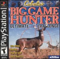 Caratula de Cabela's Big Game Hunter: Ultimate Challenge para PlayStation
