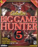 Caratula nº 56692 de Cabela's Big Game Hunter 5: Platinum Series (200 x 242)