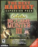 Caratula nº 55255 de Cabela's Big Game Hunter III: The Next Harvest -- Expansion Pack (200 x 241)