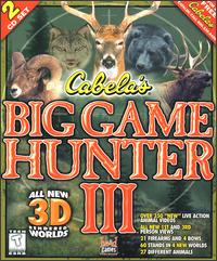 Caratula de Cabela's Big Game Hunter III para PC