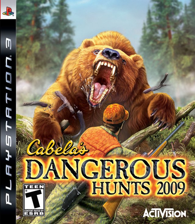 Caratula de Cabela's Dangerous Adventures para PlayStation 3