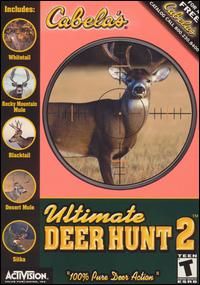 Caratula de Cabela's Ultimate Deer Hunt 2 para PC
