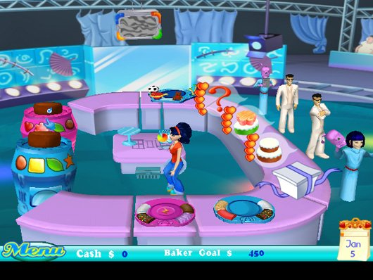 Pantallazo de Cake Mania: In The Mix para Wii
