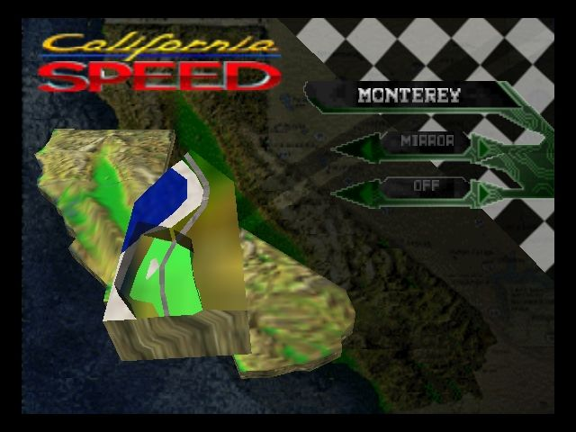 Pantallazo de California Speed para Nintendo 64