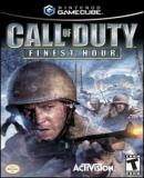 Caratula nº 20571 de Call of Duty: Finest Hour (200 x 279)