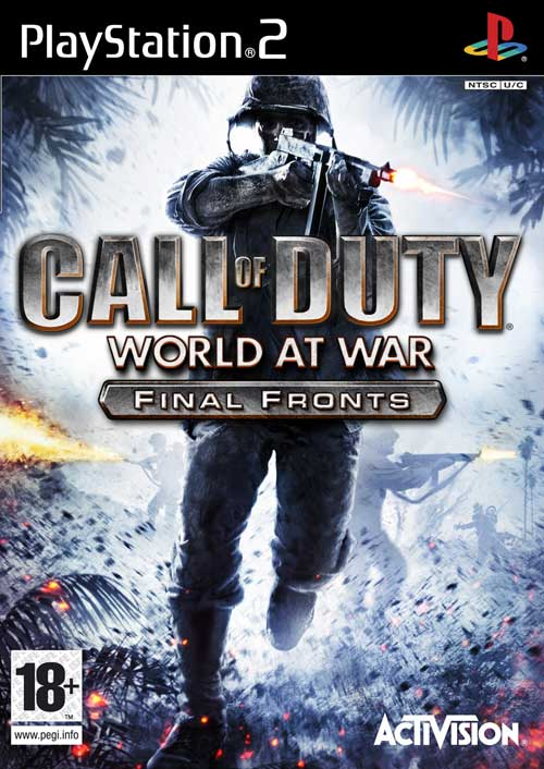Caratula de Call of Duty: World at War - Final Fronts para PlayStation 2
