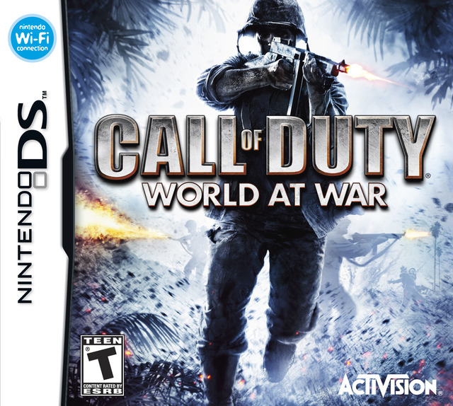 Caratula de Call of Duty: World at War para Nintendo DS
