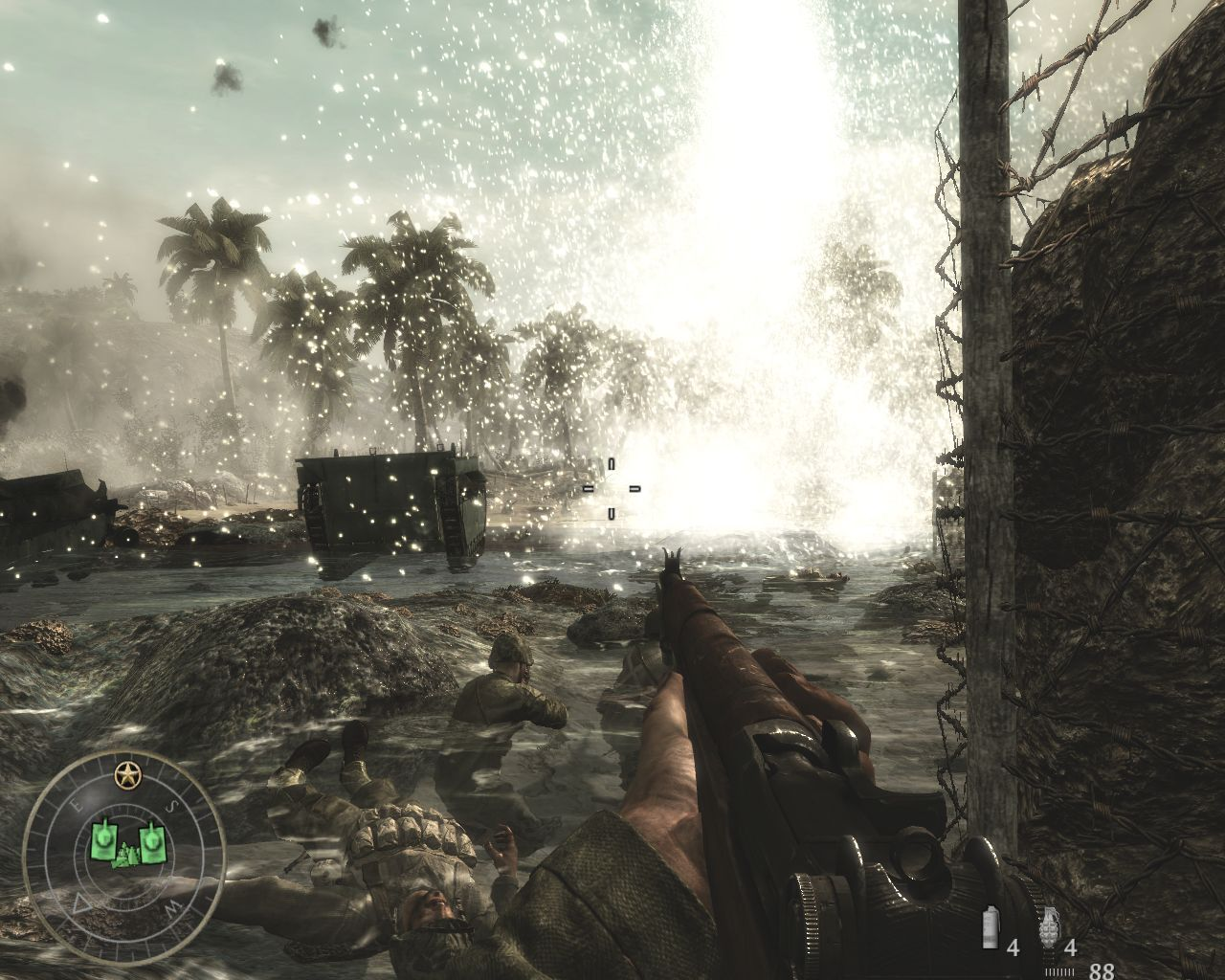 Pantallazo de Call of Duty: World at War para PC