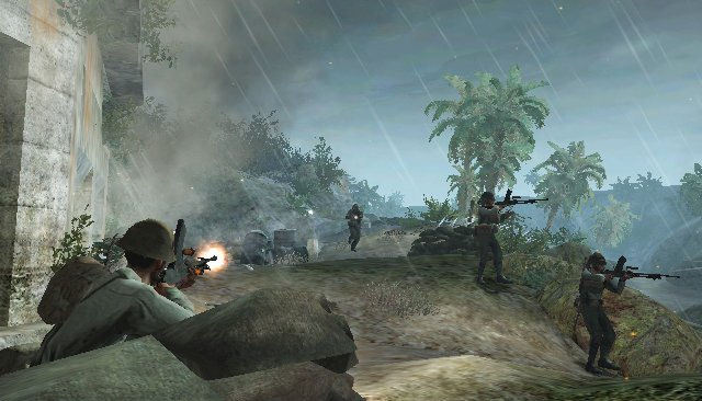Pantallazo de Call of Duty: World at War para Wii
