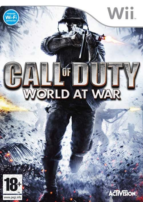 Caratula de Call of Duty: World at War para Wii