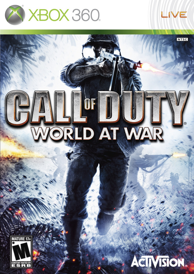 Caratula de Call of Duty: World at War para Xbox 360