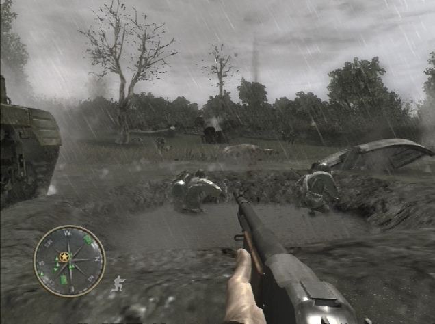 Pantallazo de Call of Duty 3 para PlayStation 3