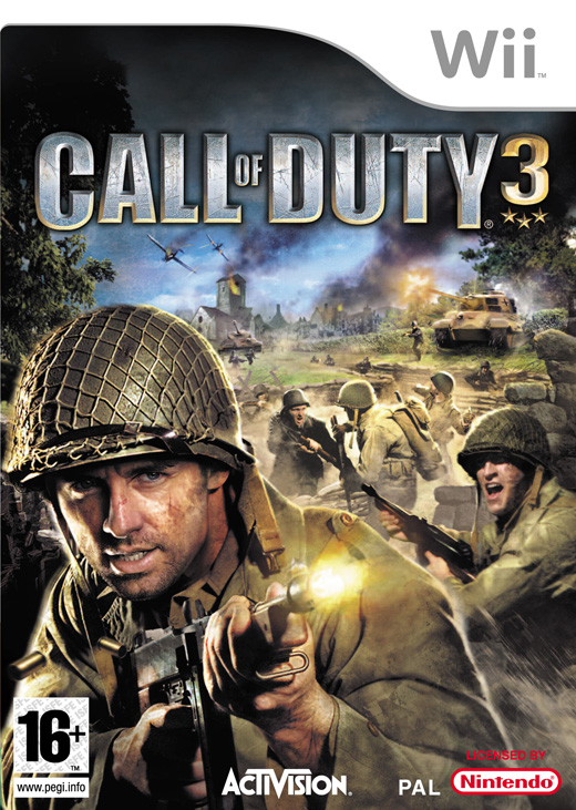 Caratula de Call of Duty 3 para Wii