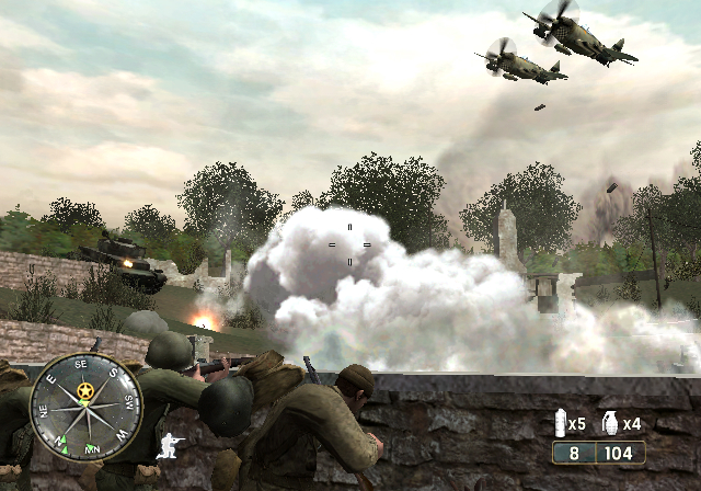 Pantallazo de Call of Duty 3 para Wii