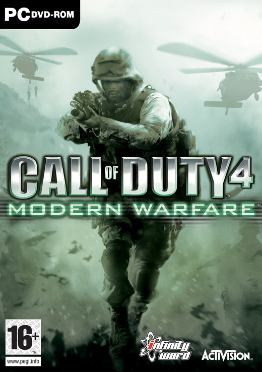 Caratula de Call of Duty 4: Modern Warfare para PC