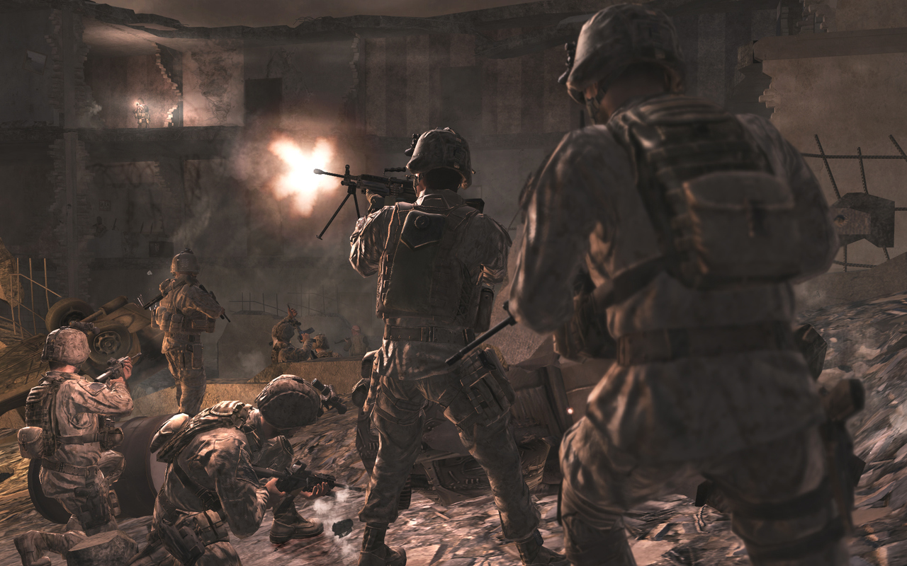 Pantallazo de Call of Duty 4: Modern Warfare para PlayStation 3