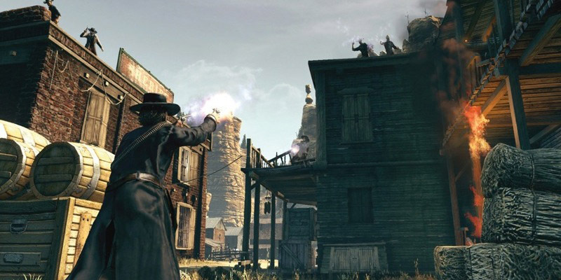 Pantallazo de Call of Juarez: Bound in Blood para PC