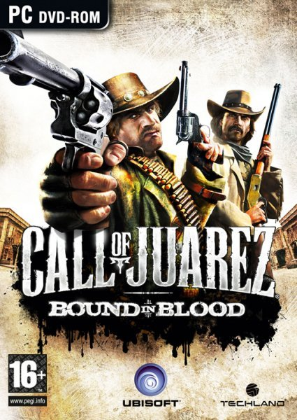 Caratula de Call of Juarez: Bound in Blood para PC