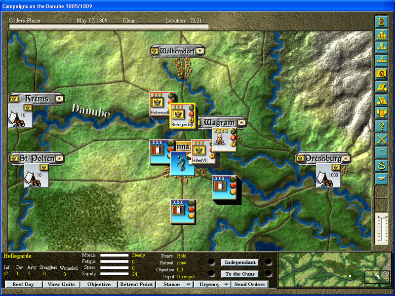 Pantallazo de Campaigns on the Danube 1805 & 1809 para PC
