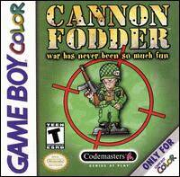 Caratula de Cannon Fodder para Game Boy Color