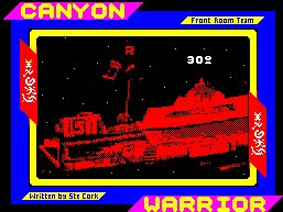 Pantallazo de Canyon Warrior para Spectrum