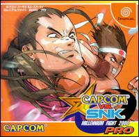 Caratula de Capcom vs. SNK: Millennium Fight 2000 Pro para Dreamcast