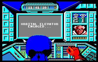 Pantallazo de Captain America Defies The Doom Tube para Amstrad CPC