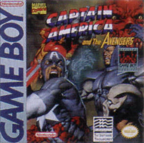 Caratula de Captain America and The Avengers para Game Boy