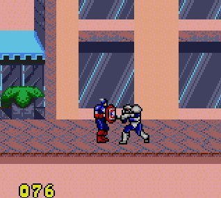 Pantallazo de Captain America and The Avengers para Gamegear