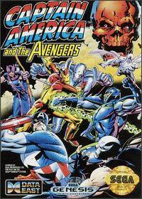 Caratula de Captain America and The Avengers para Sega Megadrive