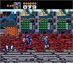 Pantallazo de Captain America and The Avengers para Super Nintendo