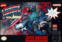 Caratula de Captain America and The Avengers para Super Nintendo
