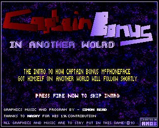 Pantallazo de Captain Bonus in Another World para Amiga