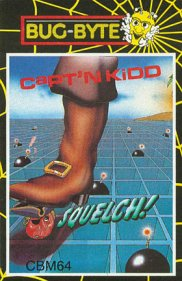 Caratula de Captain Kidd para Commodore 64