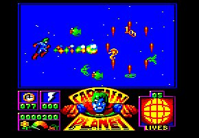 Pantallazo de Captain Planet and the Planeteers para Amstrad CPC