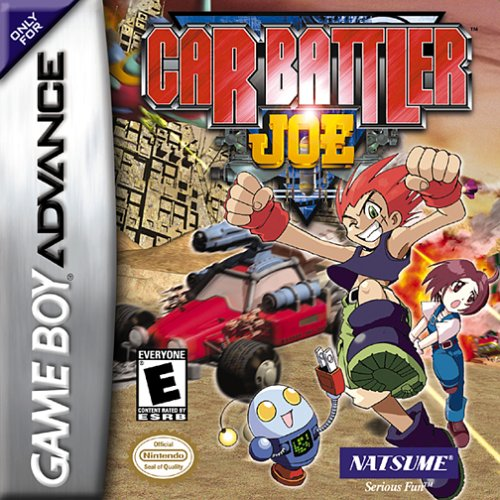 Caratula de Car Battler Joe para Game Boy Advance