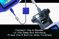 Pantallazo de Card E-Reader para Game Boy Advance